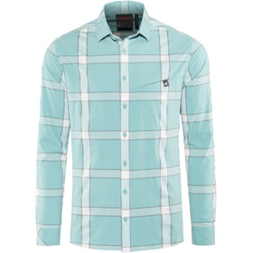 Mammut Mountain Longsleeve Shirt Men waters-bright white-titanium